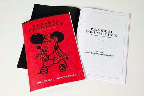Plastic Primitive limited edition Colouring book