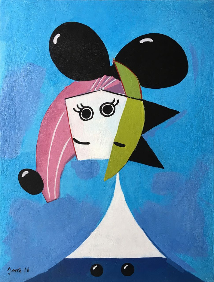 Portrait of Dora Mouse