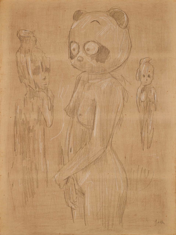 Nude with Mask IV