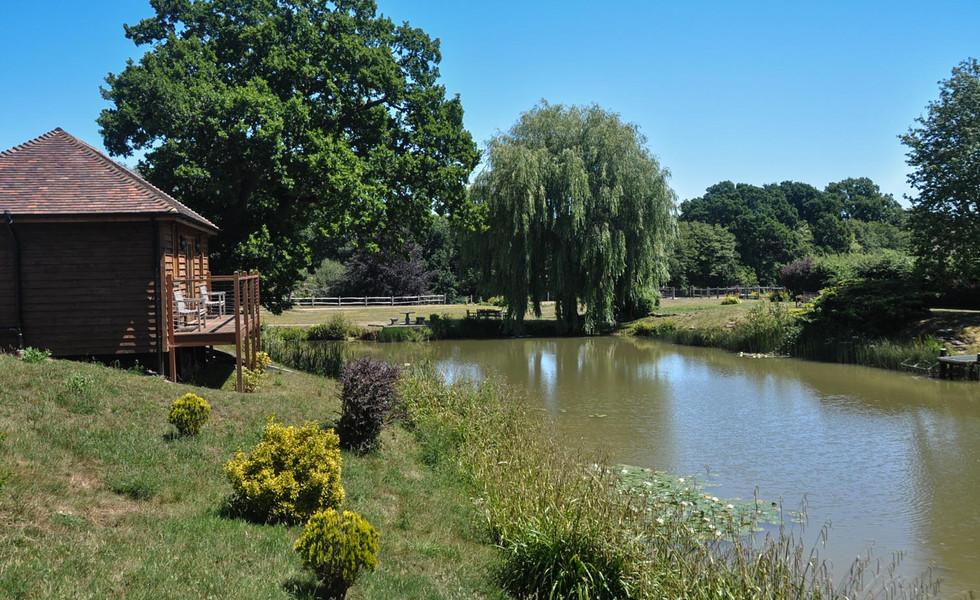 Tenterden Trout Waters Fishing Lodge