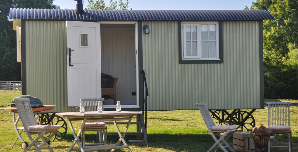 Shepherds Hut Exterior