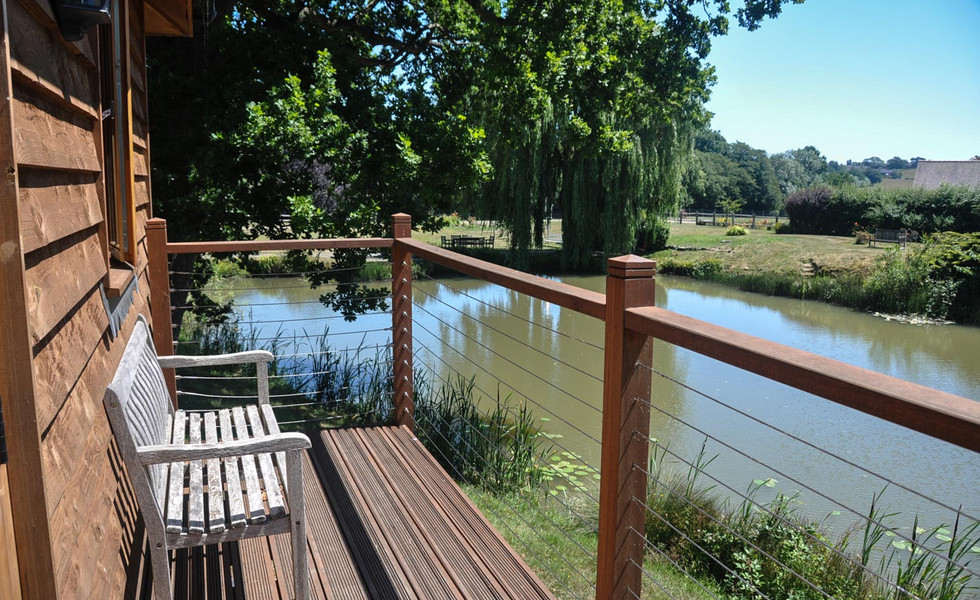 Tenterden Trout Waters Fishing Lodge Views