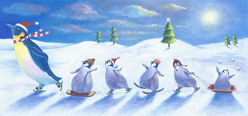 little penguins dancing