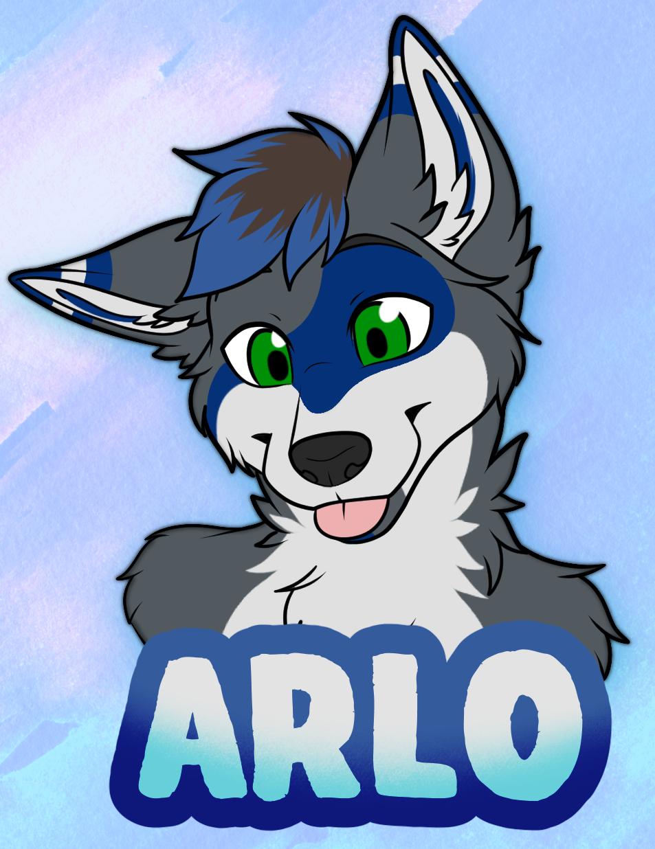 arlo badge for web