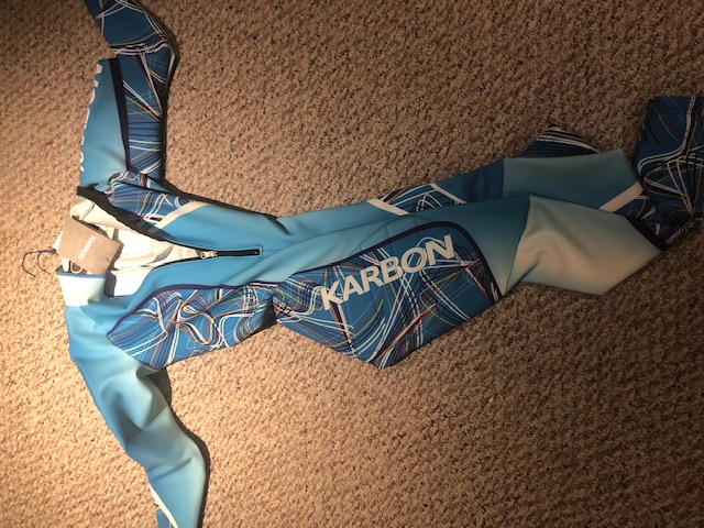 Blue Karbon Girls L