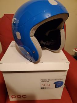 Blue XS POC helmet
