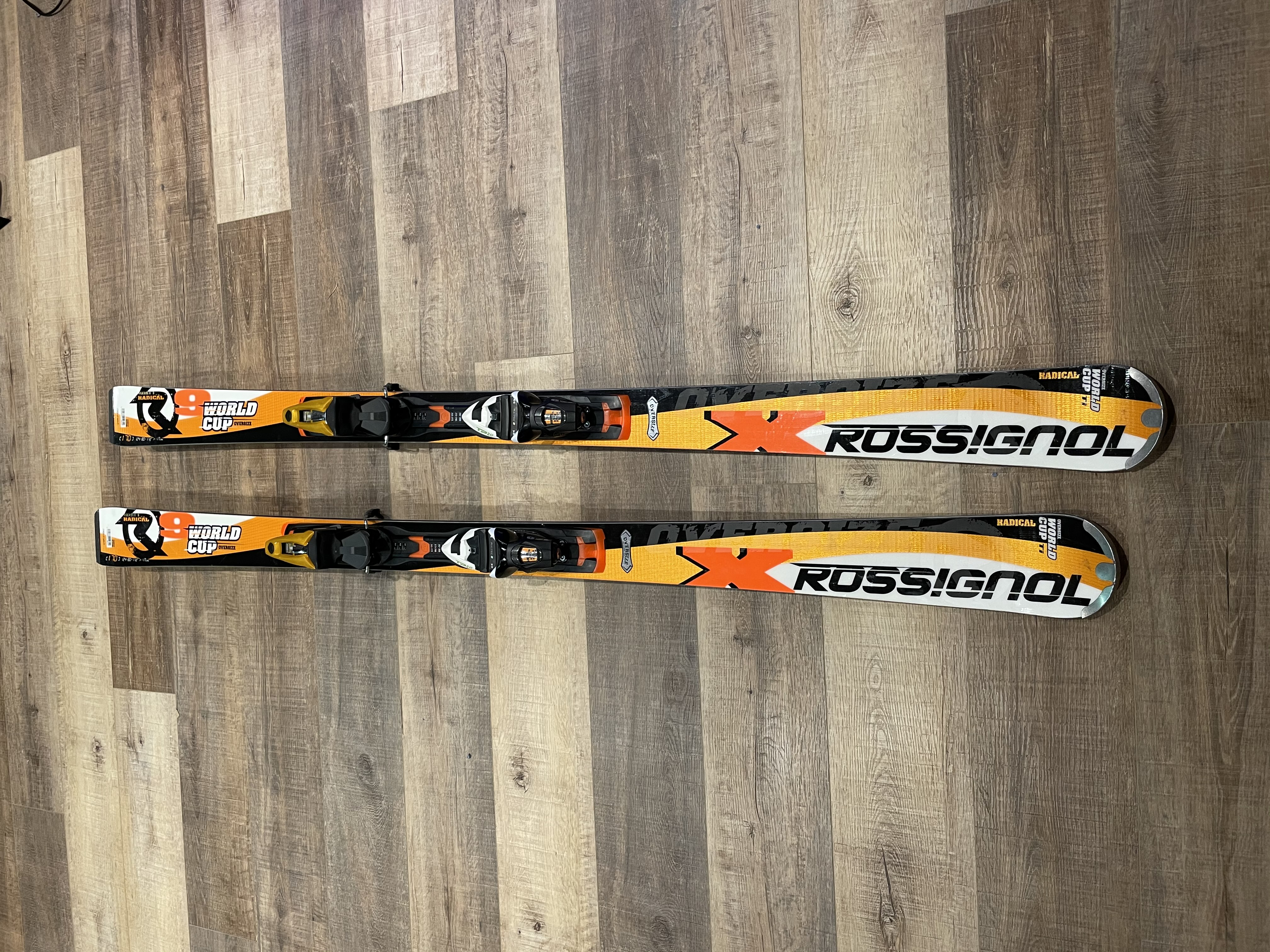 Rossignol 9X World Cup TI Oversize GS Skis