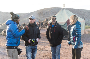 on-set-with-London-director-of-photography