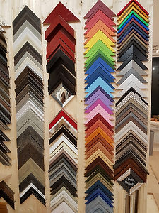 Examples of picture frame mouldings