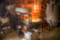 fusão de ferro