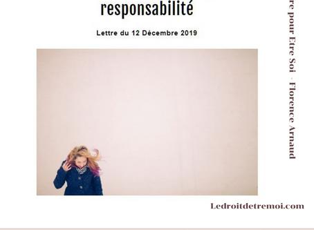 Prendre soin de soi : une responsabilité