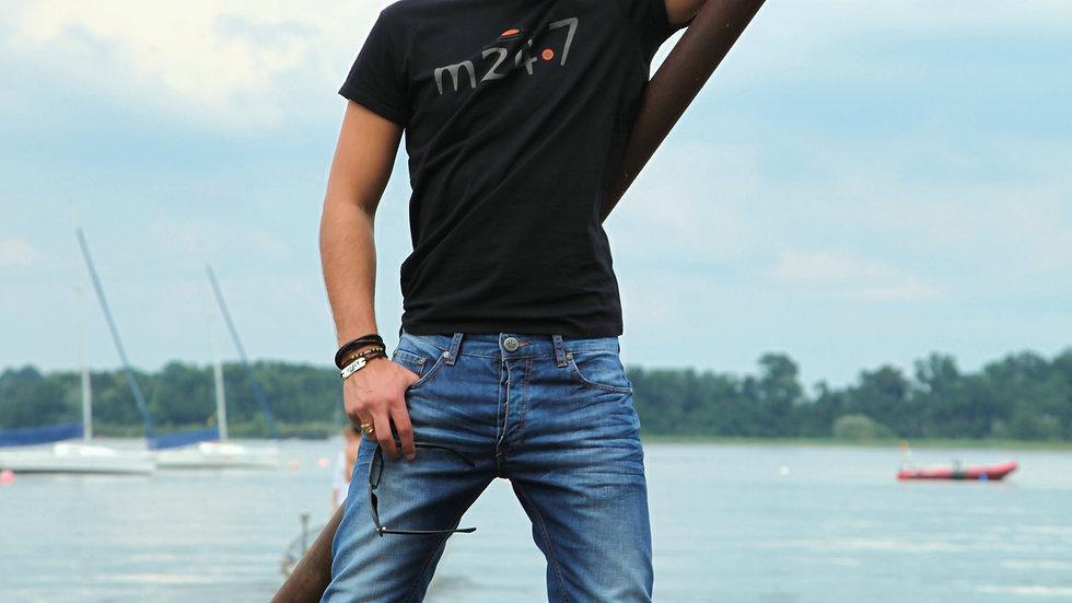 LOYYm24.7 Jeans > Blaueis / natur