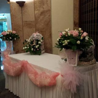 flower house angela  - στολισμος κεντρου