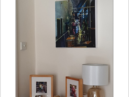 Gallery in the home