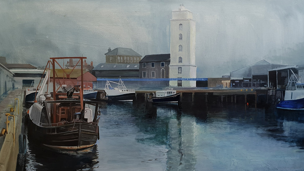 Limited Edition Print - North Shields Fish Quay