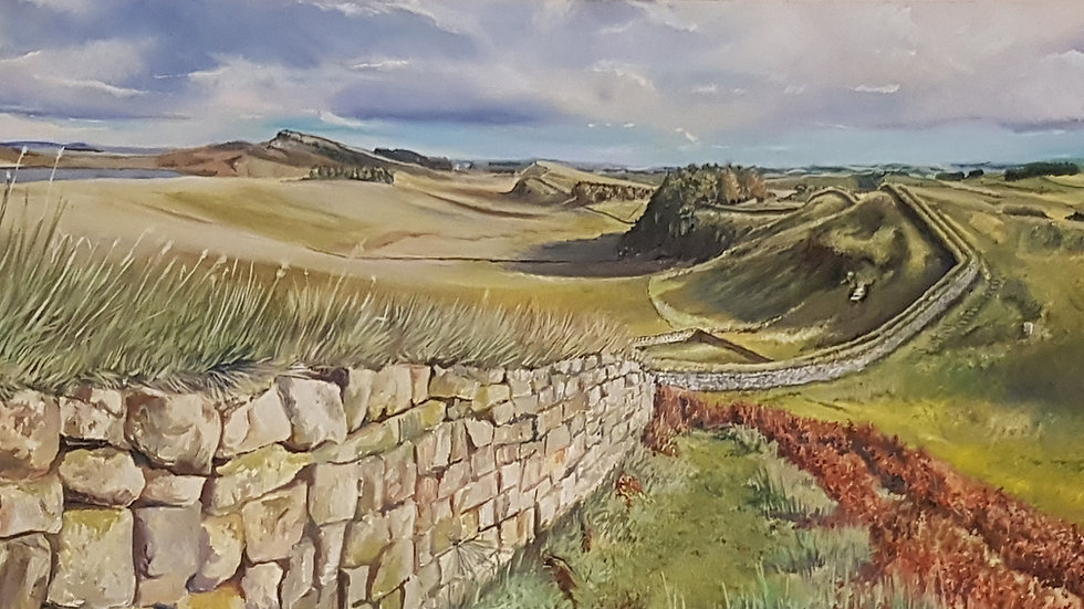 Limited Edition Print - Hadrian's Wall - Looking towards Housesteads
