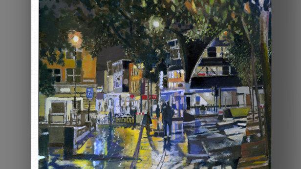 Haymarket at Night