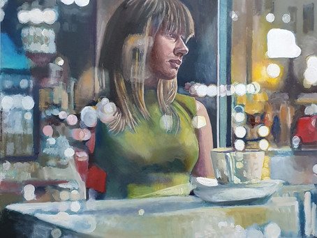 Lonely Cafe scene