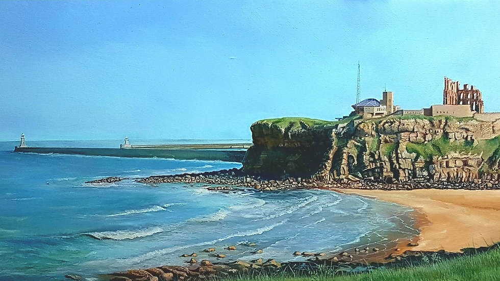Limited Edition Print - Tynemouth Priory
