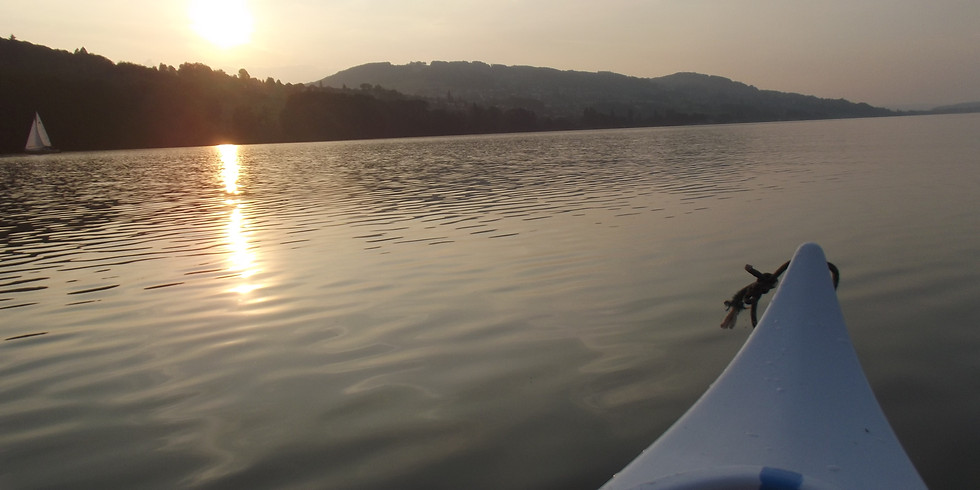 Abendfahrt mit dem Kanu