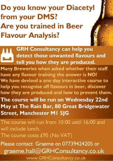 GRH Flavour training Flyer Manchester Ma