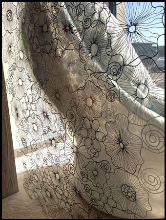 Caino MePas laser cut steel lace panels
