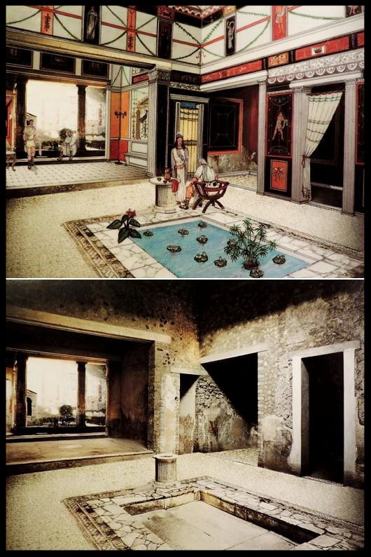 Visualization and actual ruin:  Herculaneum