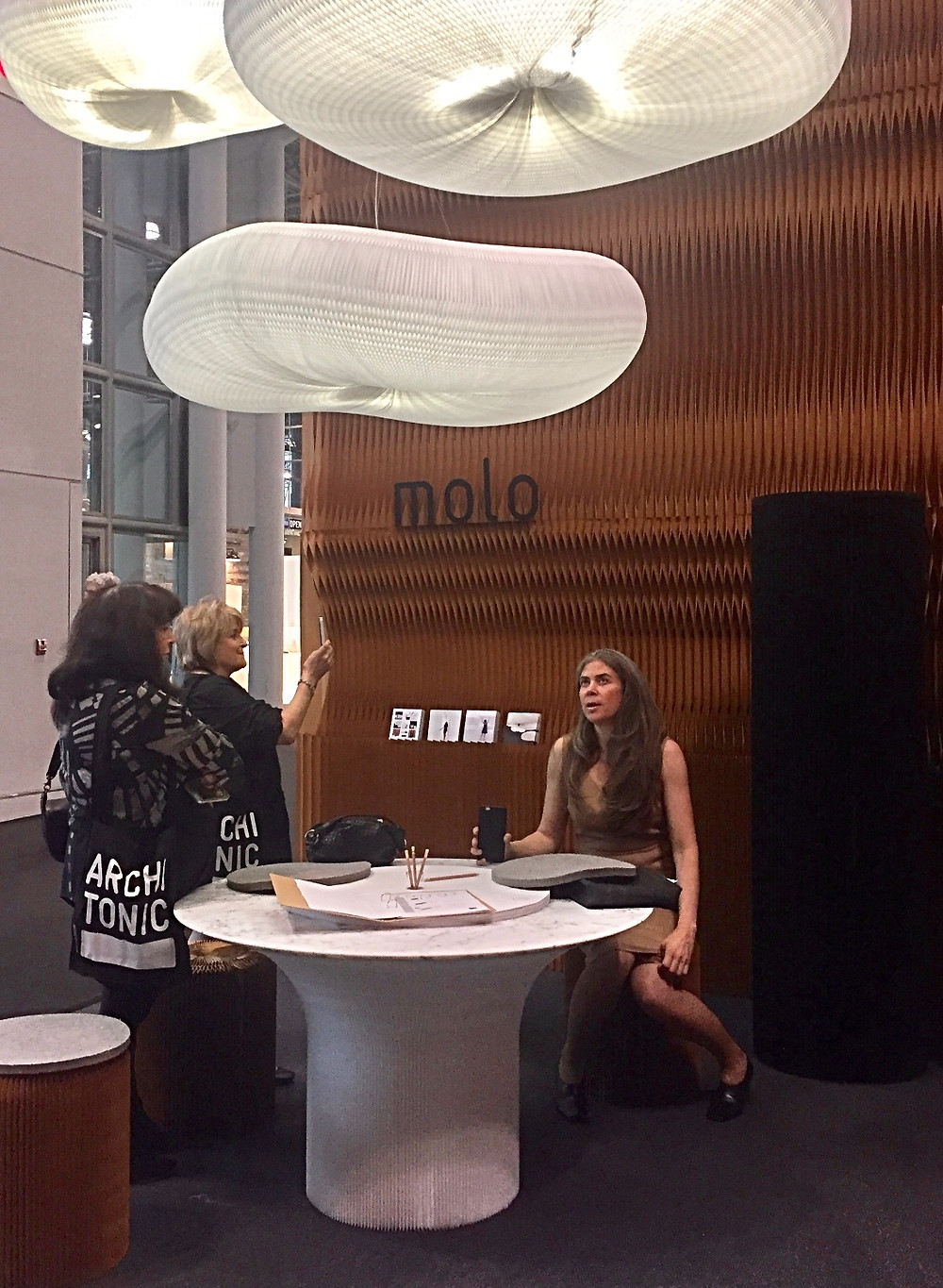 Molo design walls, tables, lighting