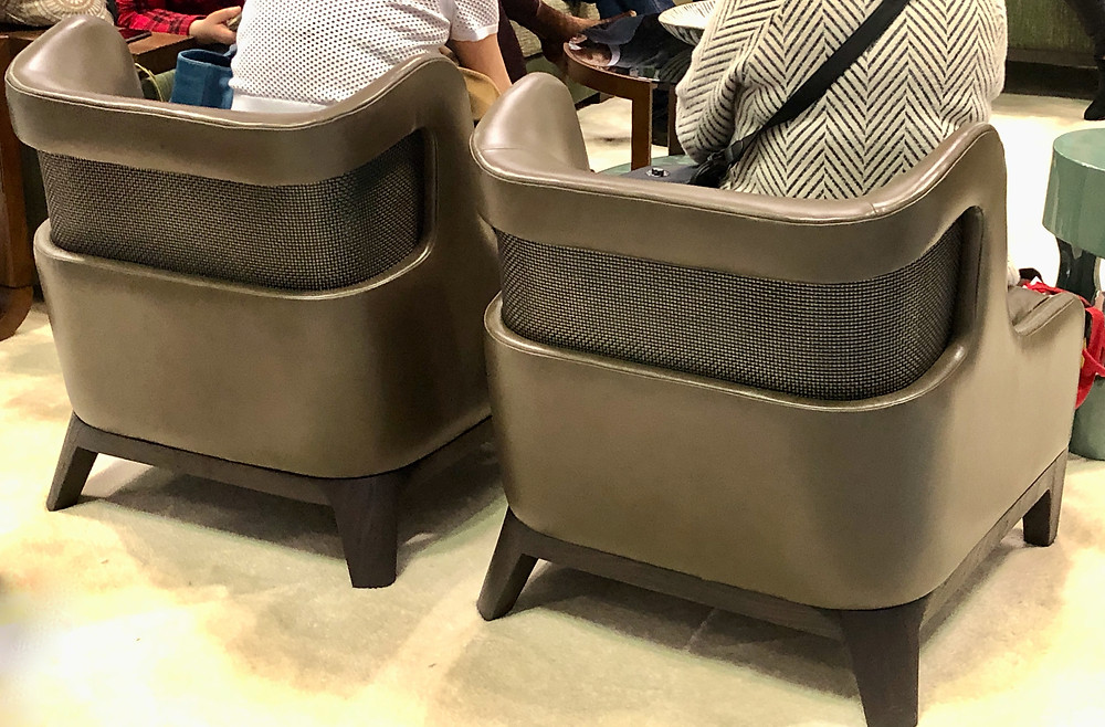 Chairs seen at BDNY 2019 trade show.  Vendor unknown.