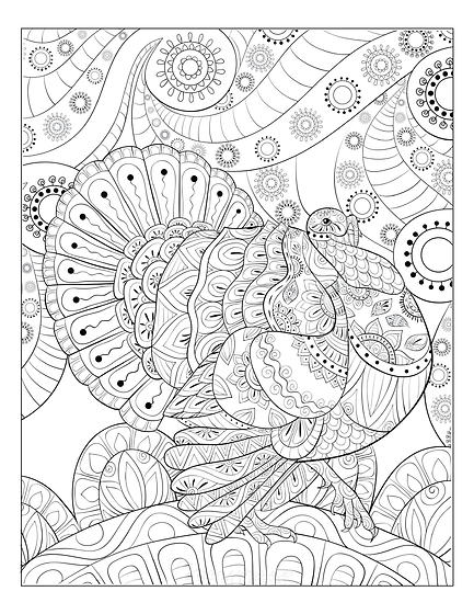 THANKSGIVING COLORING TURKEY2.png