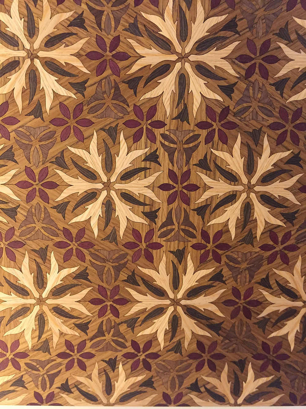 Digital wood marquetry by Christy Oates