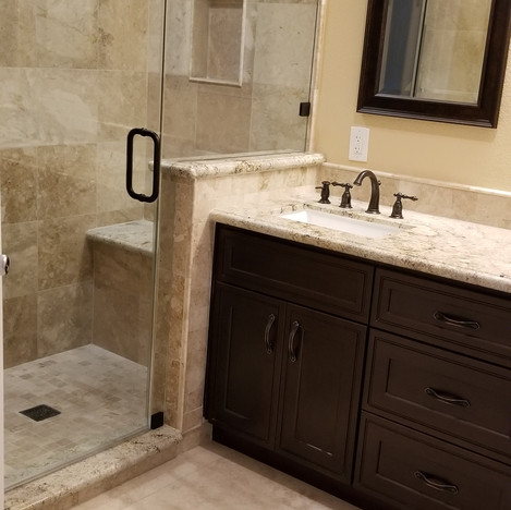 After Walk-in Shower Remodel in Simi Valley Ca