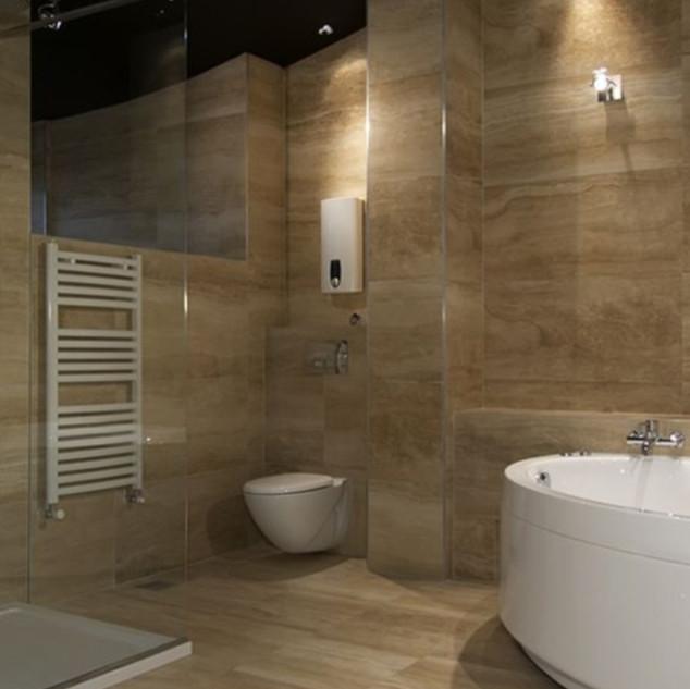 Soaking Tub Bathroom Remodel