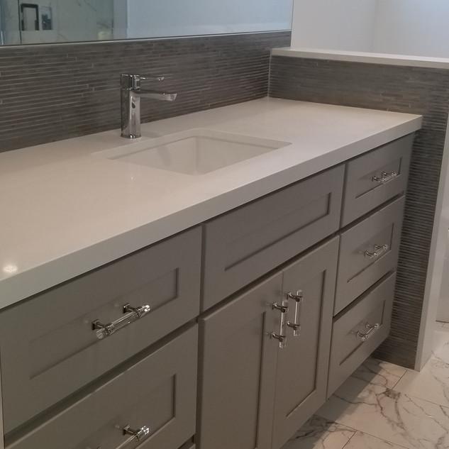 Studio City Custom Vanity for Bathroom Remodel