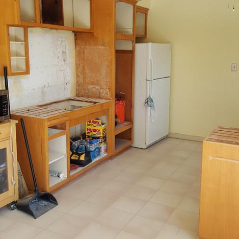 Before Kitchen Remodel in Montebello, Ca