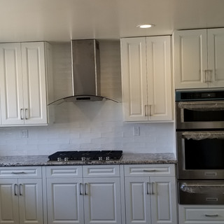 Custom Cabinets and Counters