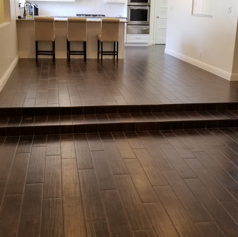 After Complete Kitchen Remodel in Porter Ranch Ca