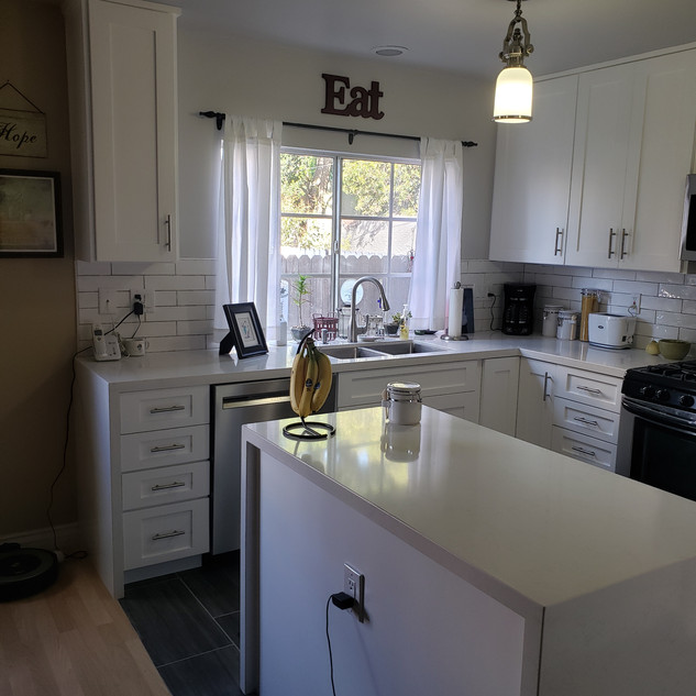 Kitchen Remodel in Long Beach, Ca