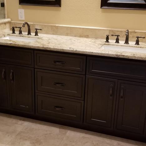 After Vanity Bathroom Remodel in Simi Valley Ca
