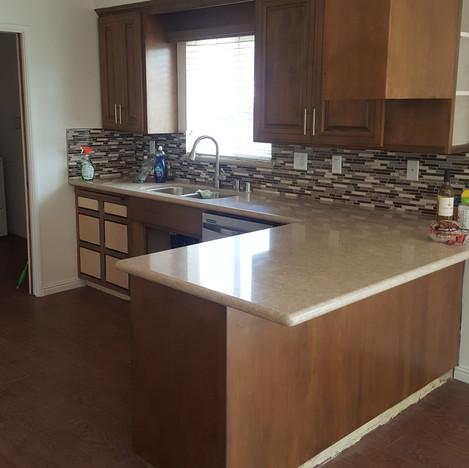After Kitchen Remodel in Montebello, Ca