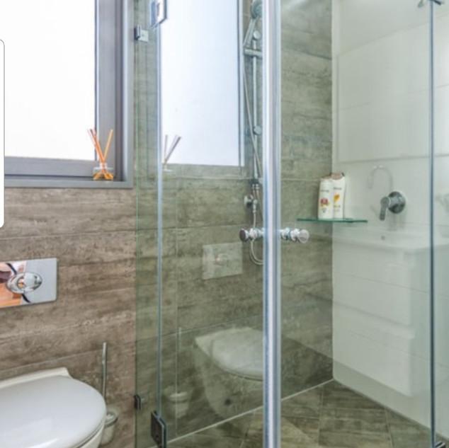 Standing Shower Bathroom Remodel