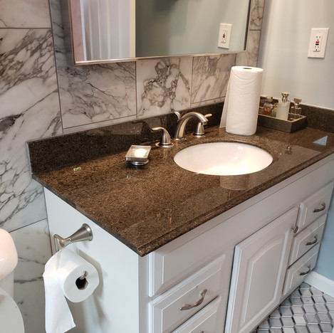 After Master Bathroom Remodel in Long Beach, Ca