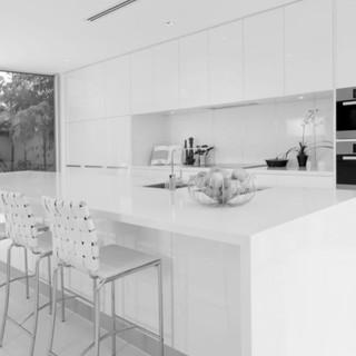 Pristine White Kitchen Remodel