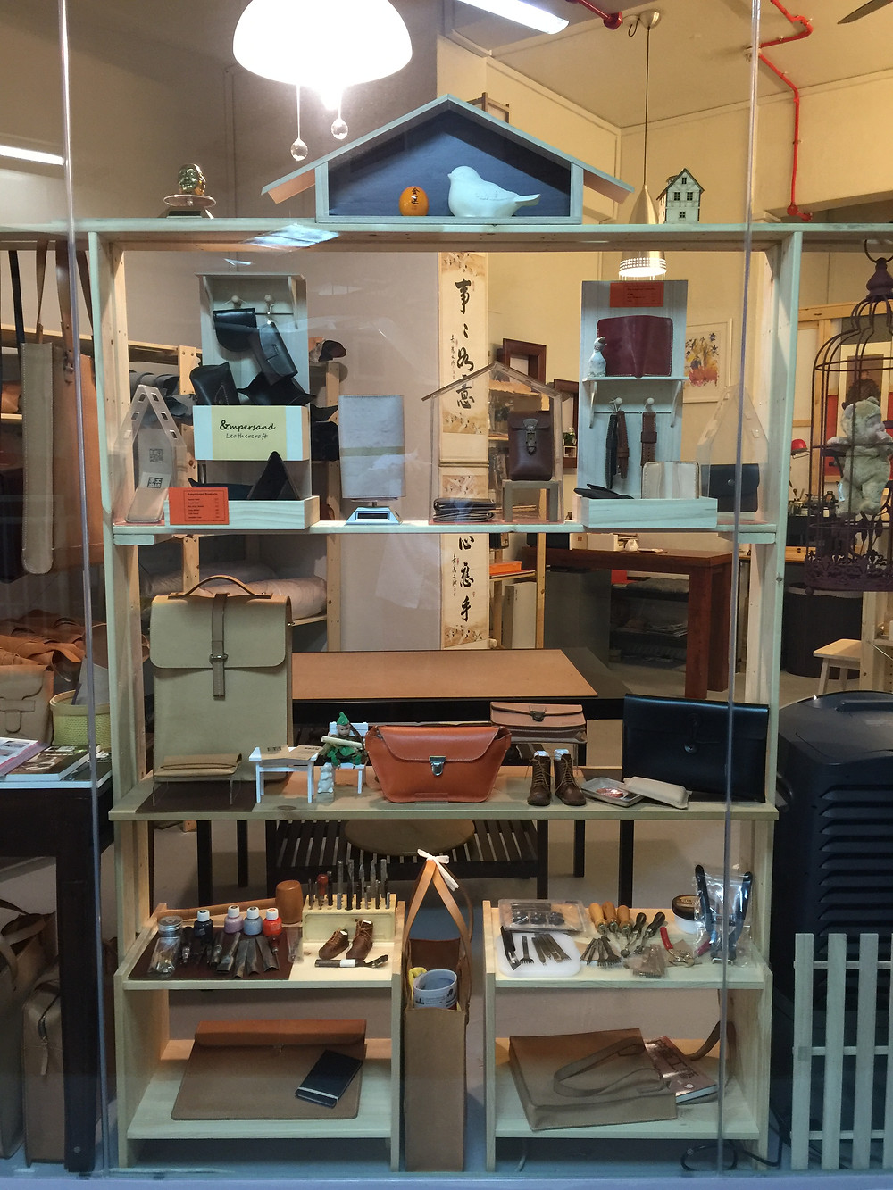 New display for local crafters' product to exhibit and sale