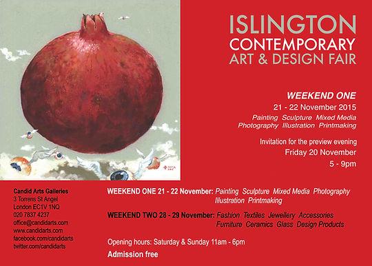 Islington Contemporary Art and Desgin Fair
