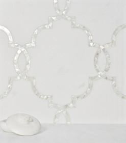 Regency in Blanc & White Mother of Pearl