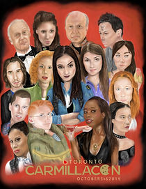 carmilla con toronto 2019 characters poster