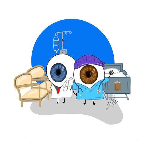 Eye-ssential Workers - Doctor & Nurse 20 count