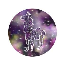 Starry Night - Awkward Llama