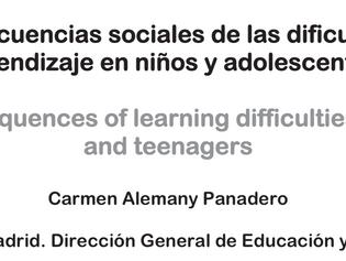Estudio: Consecuencias sociales de las Dificultades de Aprendizaje
